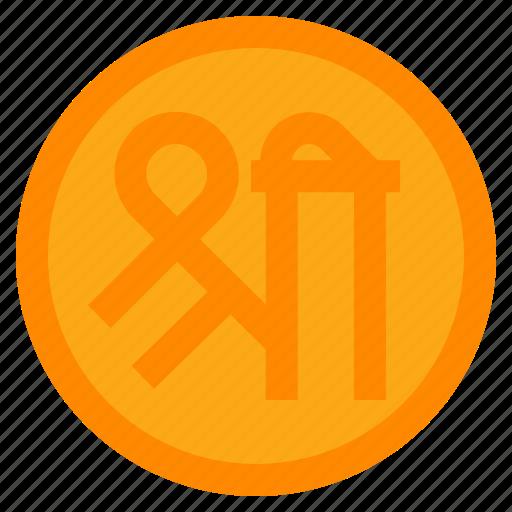 decoration, diwali, entrance, festival, rangoli, shree, sticker icon