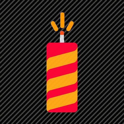 bomb, celebration, crackers, diwali, festival, hindu, indian icon