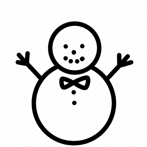 christmas, holiday, man, ornaments, snow, snowman icon