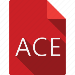ace, document, file, file format, page, paper, sheet icon