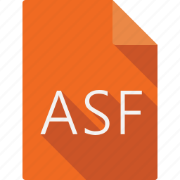 asf, document, file, file format, page, paper, sheet icon