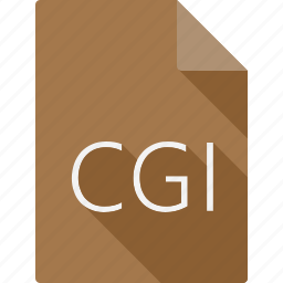 cgi, document, file, file format, page, paper, sheet icon