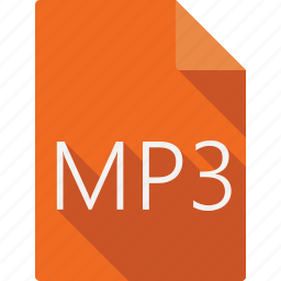 document, file, file format, mp3, page, paper, sheet icon