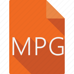 document, file, file format, mpg, page, paper, sheet icon