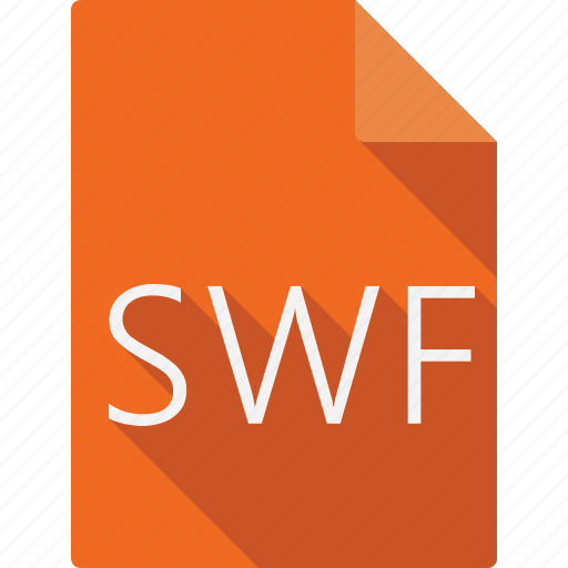 document, documents, file, file format, files, folder, orange, page, paper, sheet, swf icon
