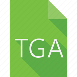 document, file, file format, page, paper, sheet, tga icon