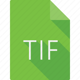 document, file, file format, page, paper, sheet, tif icon