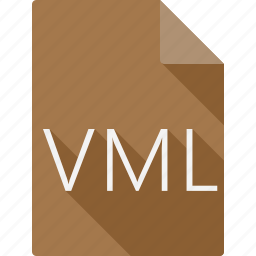 document, file, file format, page, paper, sheet, vml icon