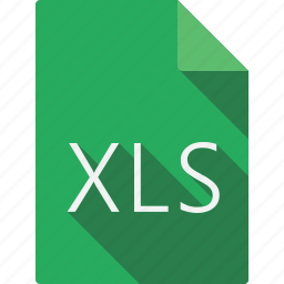 document, file, file format, page, paper, sheet, xls icon