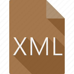 document, file, file format, page, paper, sheet, xml icon