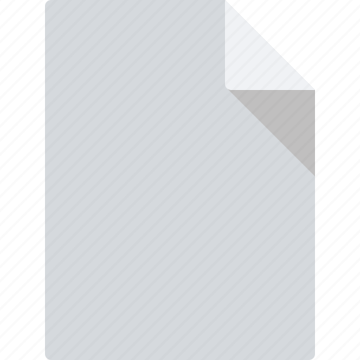 blank, document, file, page, paper, sheet icon