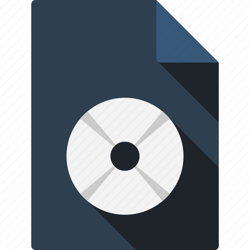 compact, disk, document, file, page, paper, sheet icon
