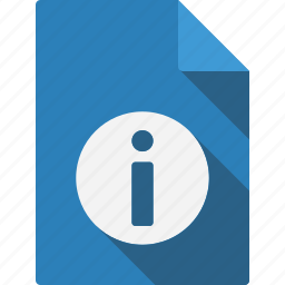 document, file, information, page, paper, sheet icon