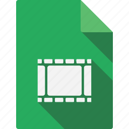 document, file, page, paper, sheet, video icon