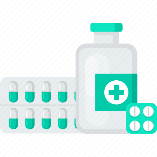 bottle, drugs, medical, medicine, pill icon