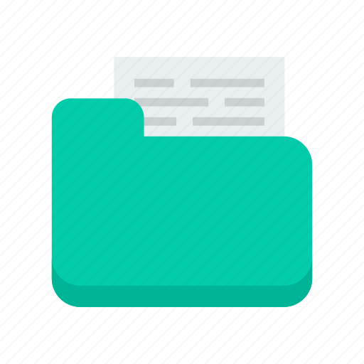 document, file, folder, medical icon