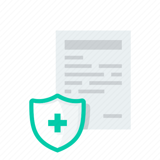 doctor, health insurance, insurance, medical, report icon