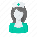 doctor, female nurse, help, hospital, medical, nurse icon