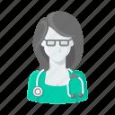 medical, hospital, female doctor, helth, doctor