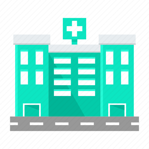 building, clinic, doctor, helth, hospital, medical icon
