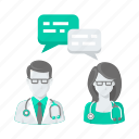 help, doctor, communication, conversation, chat, doctors