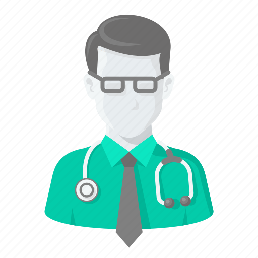 avatar, doctor, helth, hospita, man, treatment icon