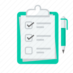 check list, health, healthcare, list, medical, plan, report icon