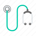doctor, healthcare, helth, medical, stethoscope, treatment icon