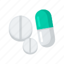 capsule, drugs, medical, medicine, pills, tablet icon