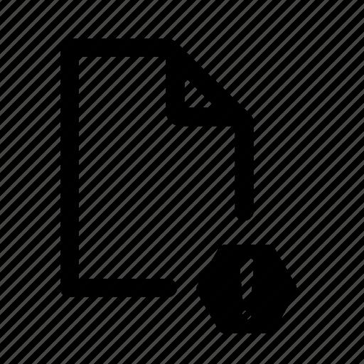 .doc, document, document error, error, file, stop icon