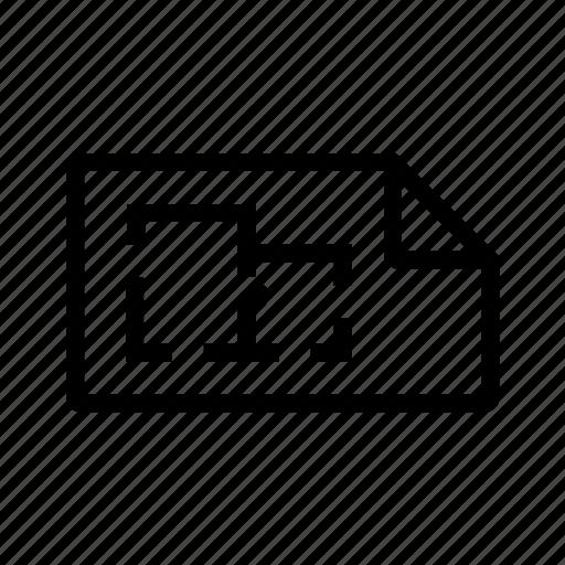 architecture, construction, design, requirements icon