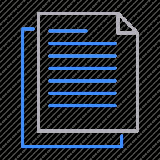 copy, documents, office, paste icon
