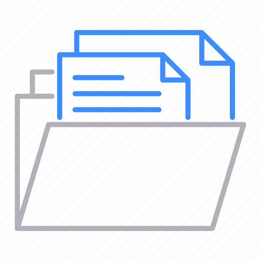 documents, files, folder, office icon