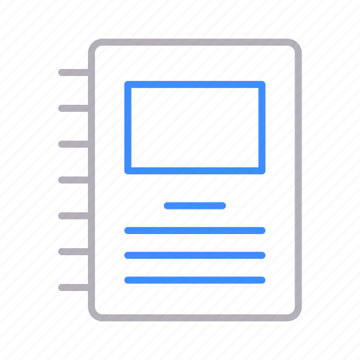 documents, note, office, reminder icon