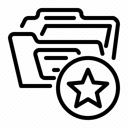 Star, favorite, bookmark, document icon - Download on Iconfinder