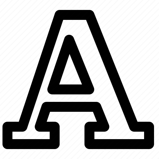 Alphabet, capital, font icon - Download on Iconfinder