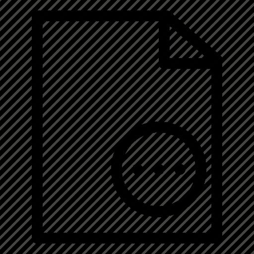 archive, business, document, file, folder, more, organize icon