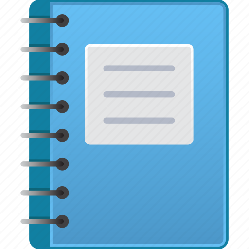 book, copybook, data, document, documents, fieldbook, pocketbook icon