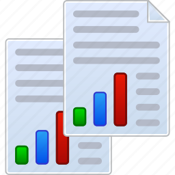 bar chart, business graph, data analytics, excel files, financial reports, sales graphics, stock market icon