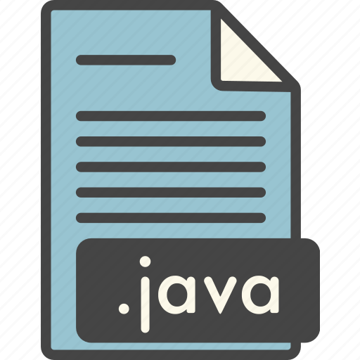 doc, extension, file, file extension, format, java, types icon