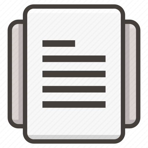 Document, documents, file, text icon - Download on Iconfinder