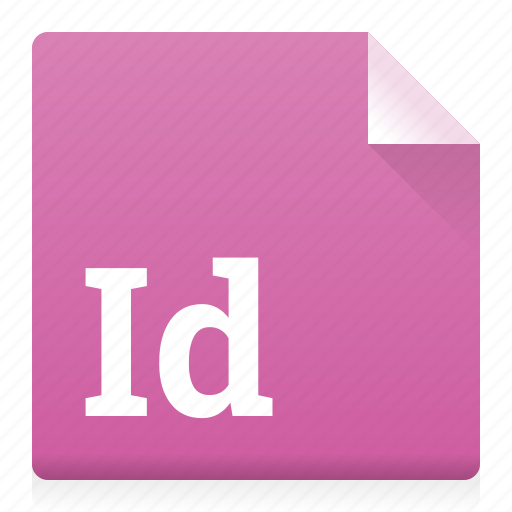 document, file, indesign, type icon