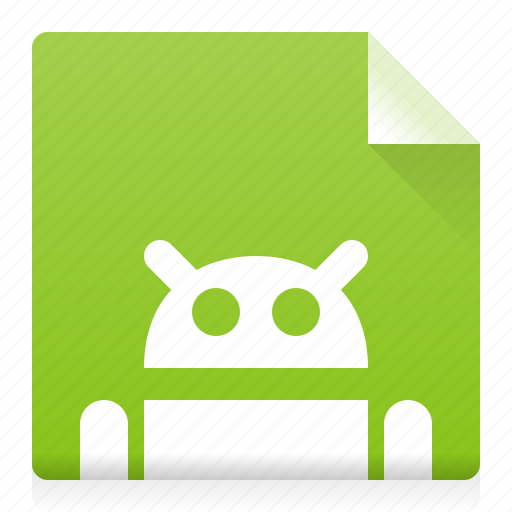 android, apk, application, document, file, source, type icon