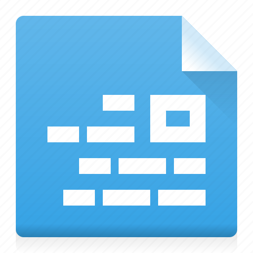 alignment, block, document, file, picture, right, type icon