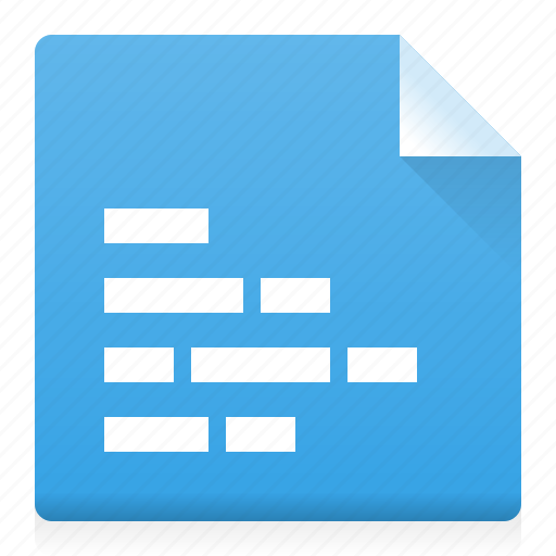 alignment, document, file, left, text, type, word icon