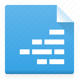 alignment, document, file, right, text, type, word icon