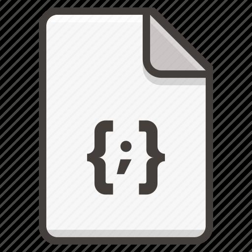 code, document, file icon
