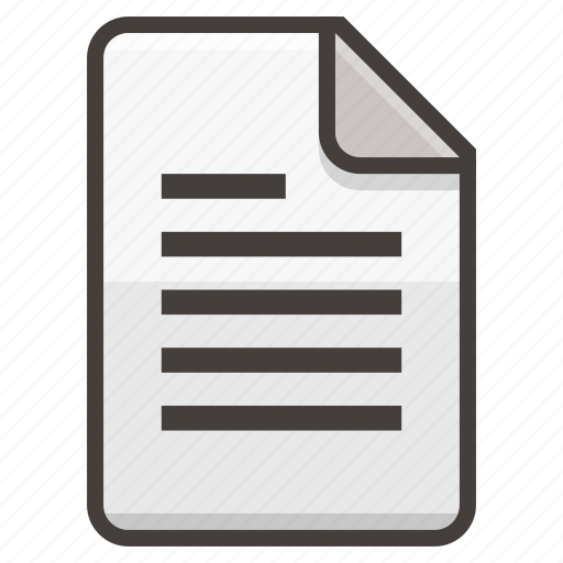 Document, file, text icon - Download on Iconfinder