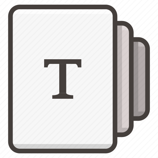 document, documents, file icon