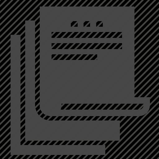 copy, documents, files icon